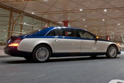 Maybach 62 I Restyling 2010 - 2012 Sedan :: OUTSTANDING CARS