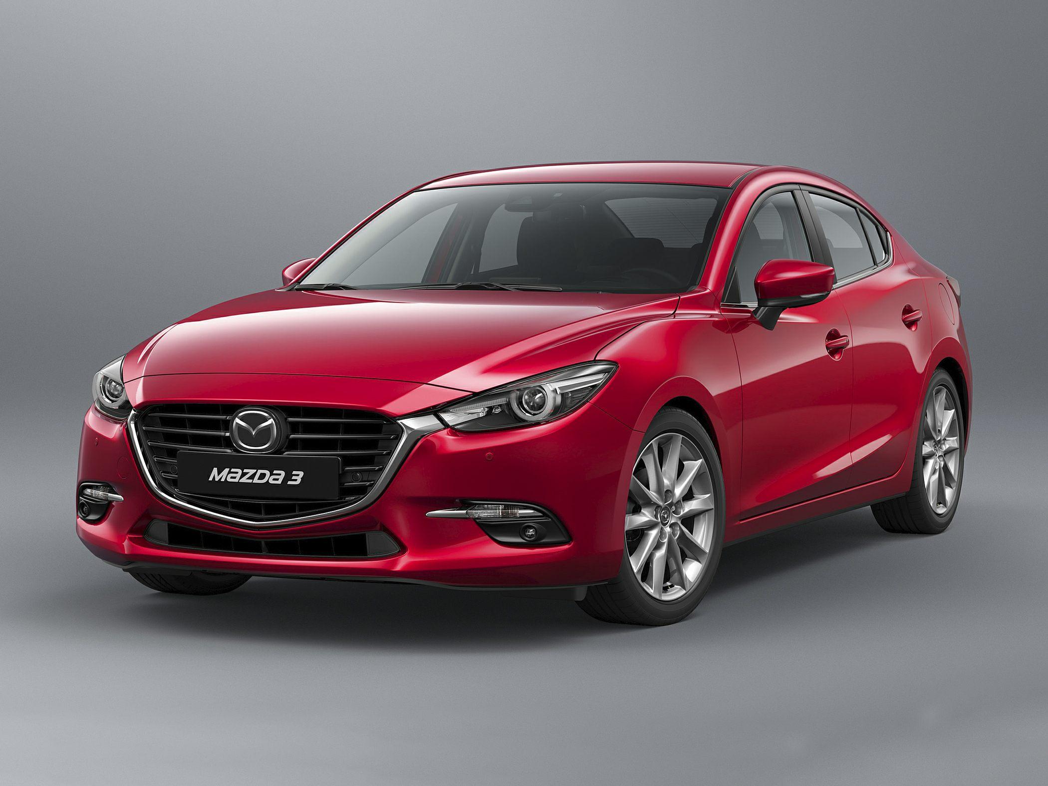 Mazda 3 III Restyling 2016 - now Sedan #8