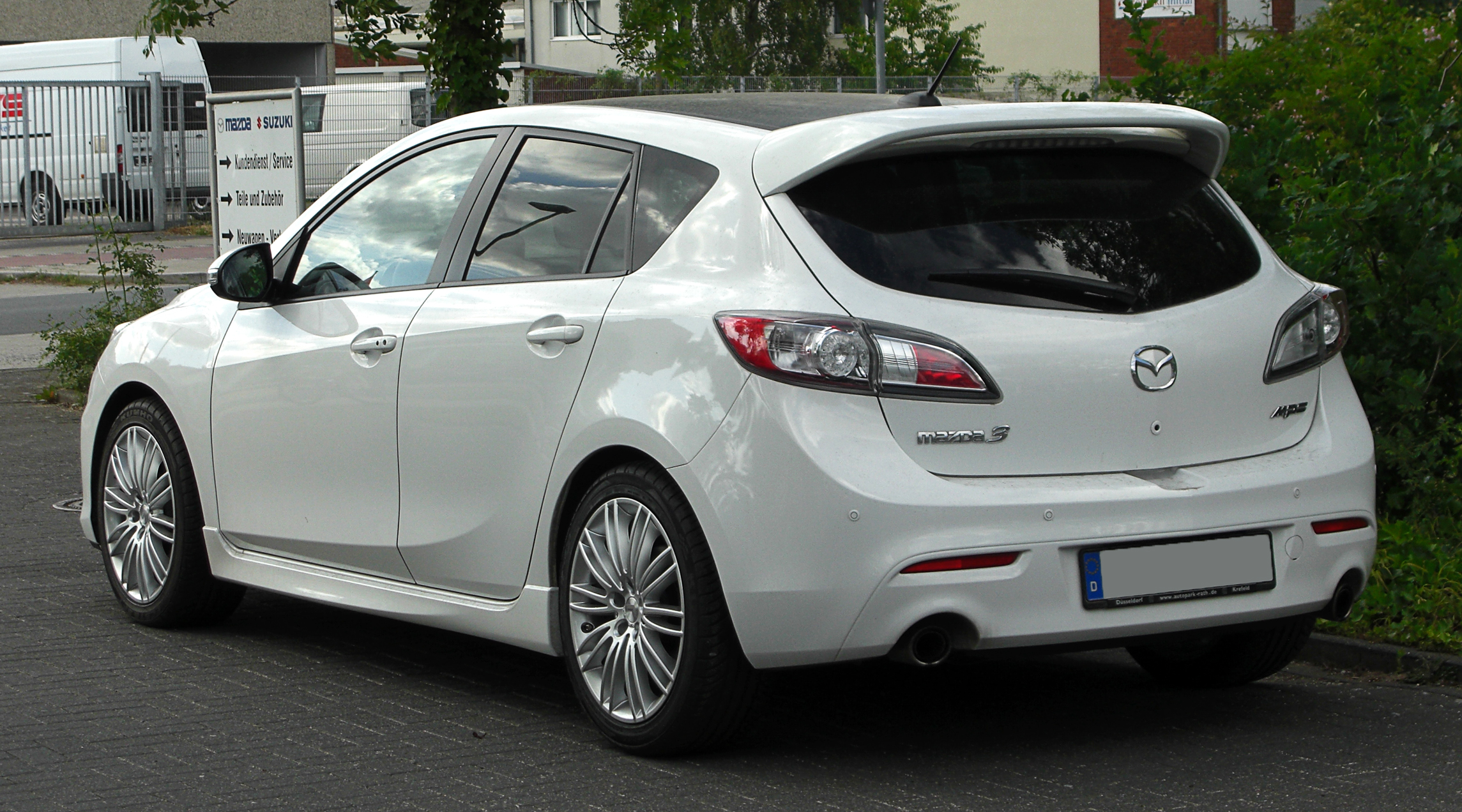 Mazda 3 MPS II 2009 - 2011 Hatchback 5 door :: OUTSTANDING CARS