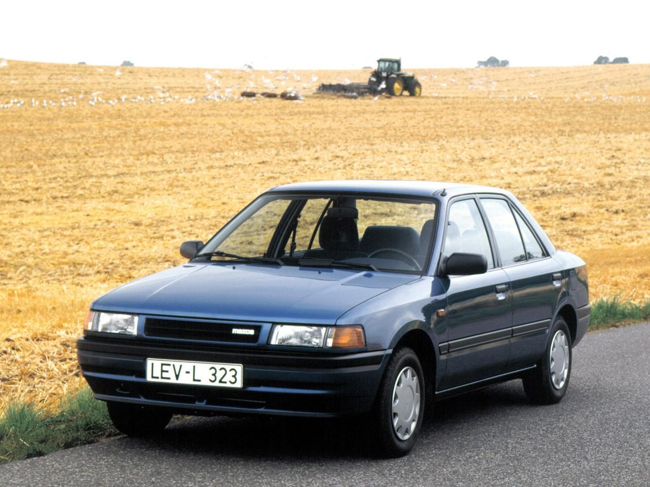 mazda 323 iv bg 1989 1994 sedan outstanding cars rh carsot com