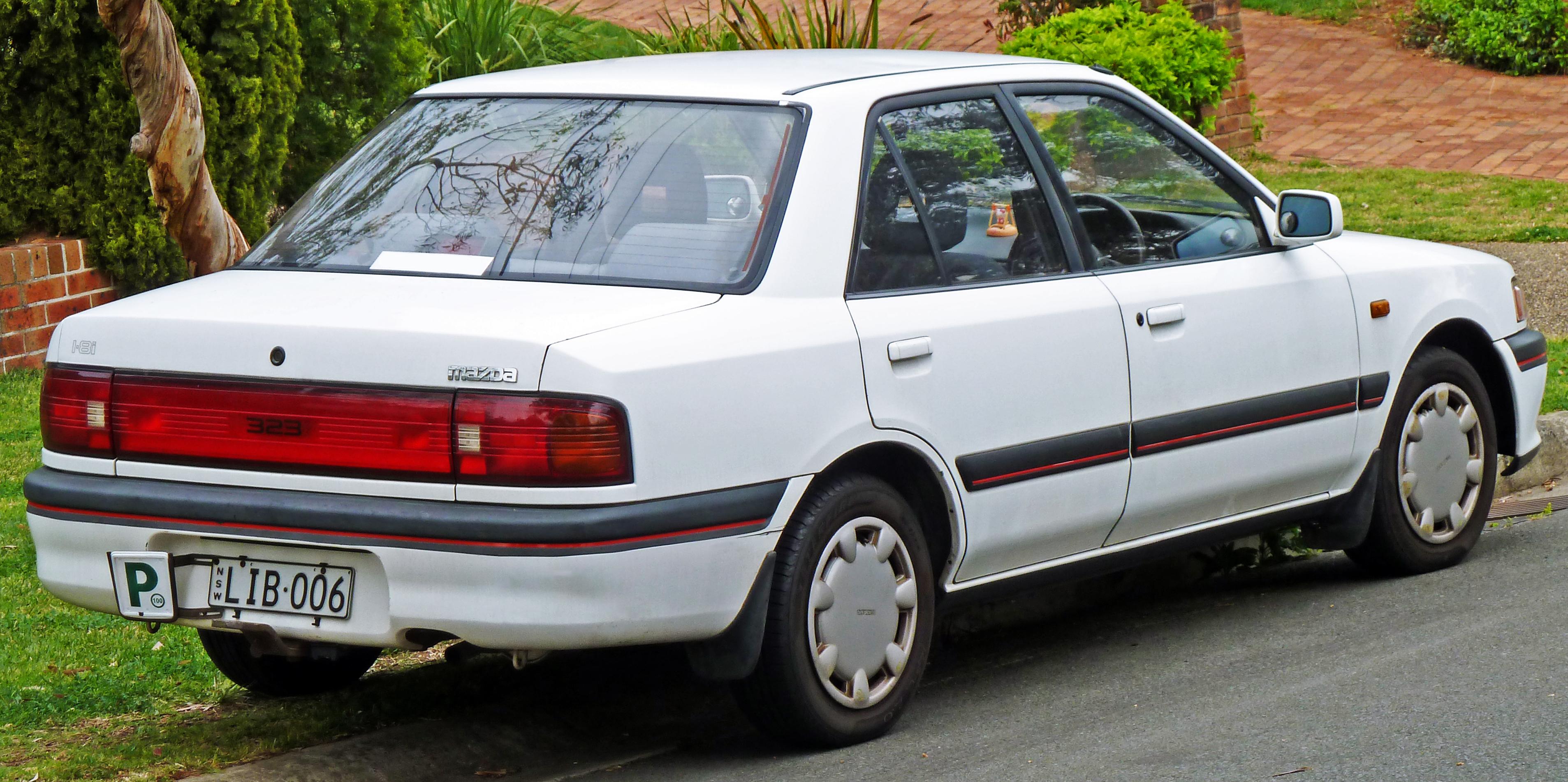 Mazda 323 IV (BG) 1989 - 1994 Sedan :: OUTSTANDING CARS