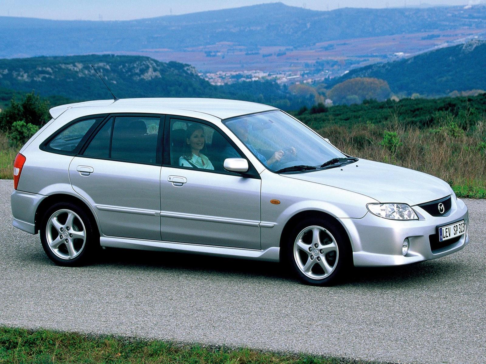 mazda 323 vi bj 1998 2000 hatchback 3 door outstanding cars rh carsot com Mazda 121 JDM Mazda 323F BA