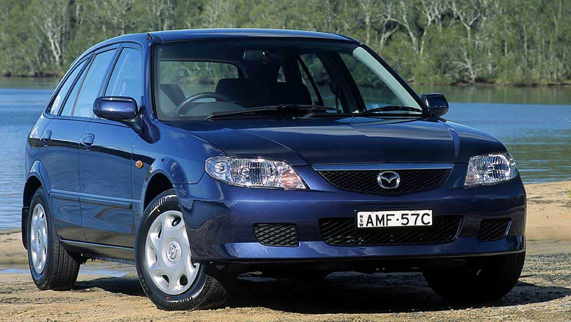 Mazda 323 VI (BJ) Restyling 2000 - 2003 Sedan #6