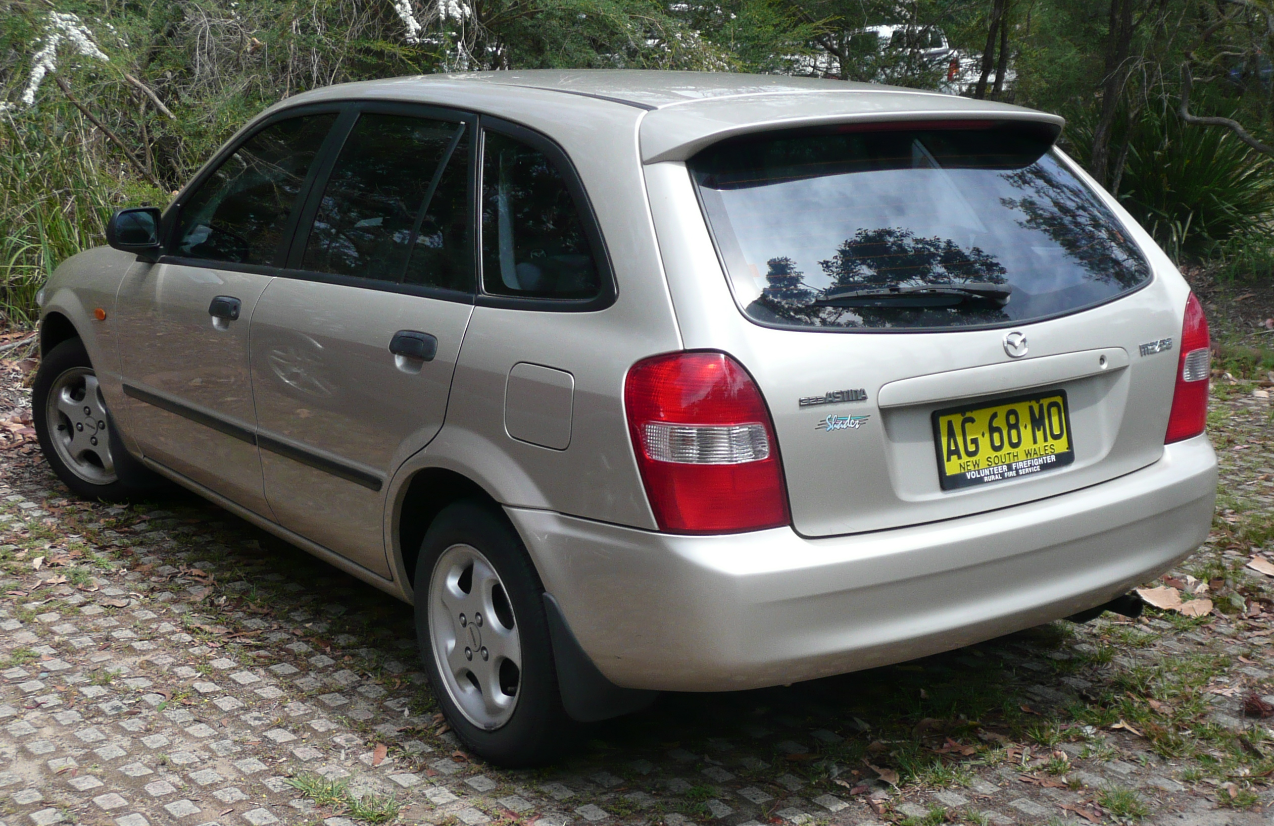 Mazda 323 Vi Bj Restyling 2000 2003 Hatchback 5 Door Acura Engine Diagrams 6