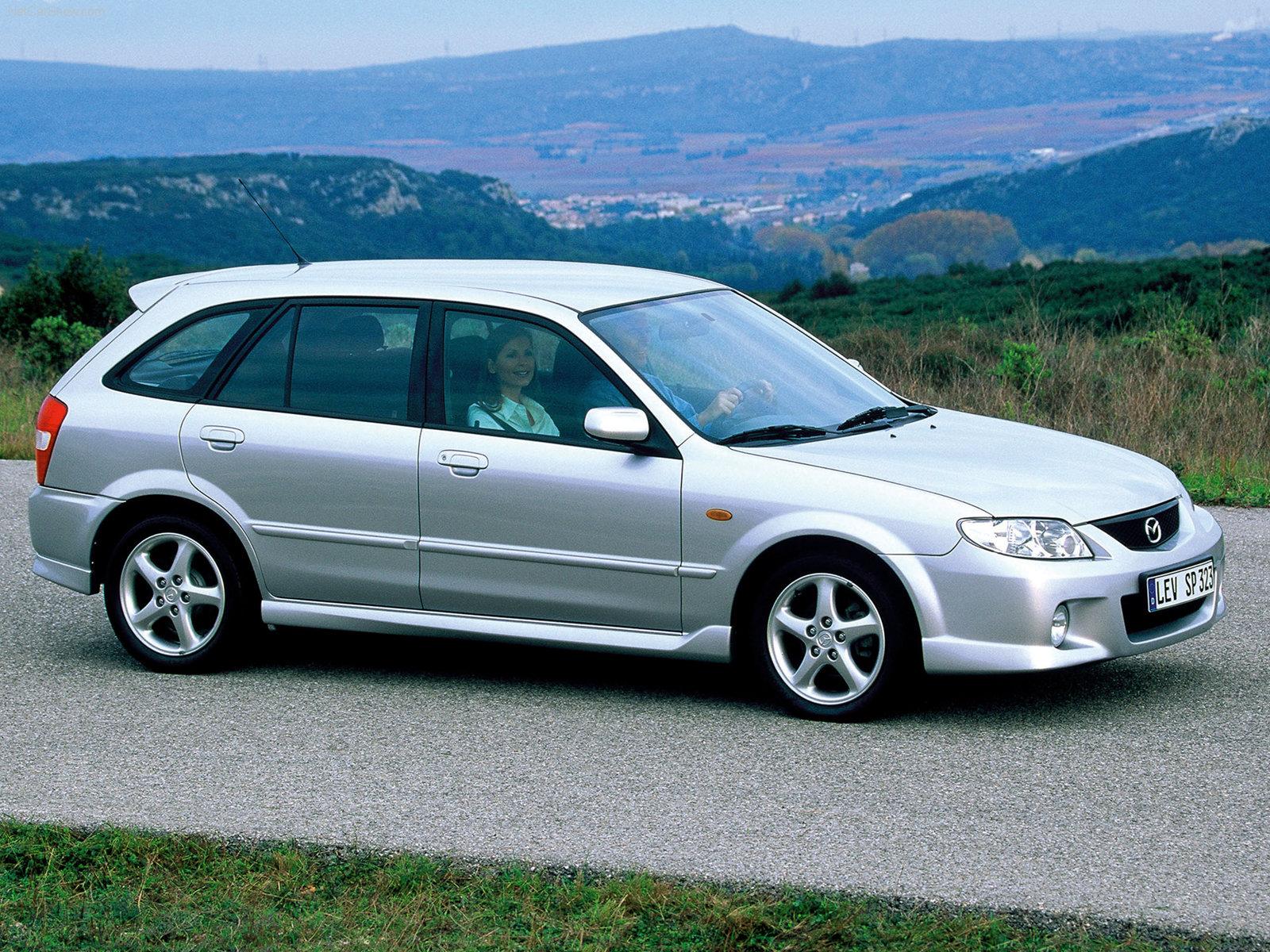 Mazda 323 VI (BJ) Restyling 2000 - 2003 Sedan #3