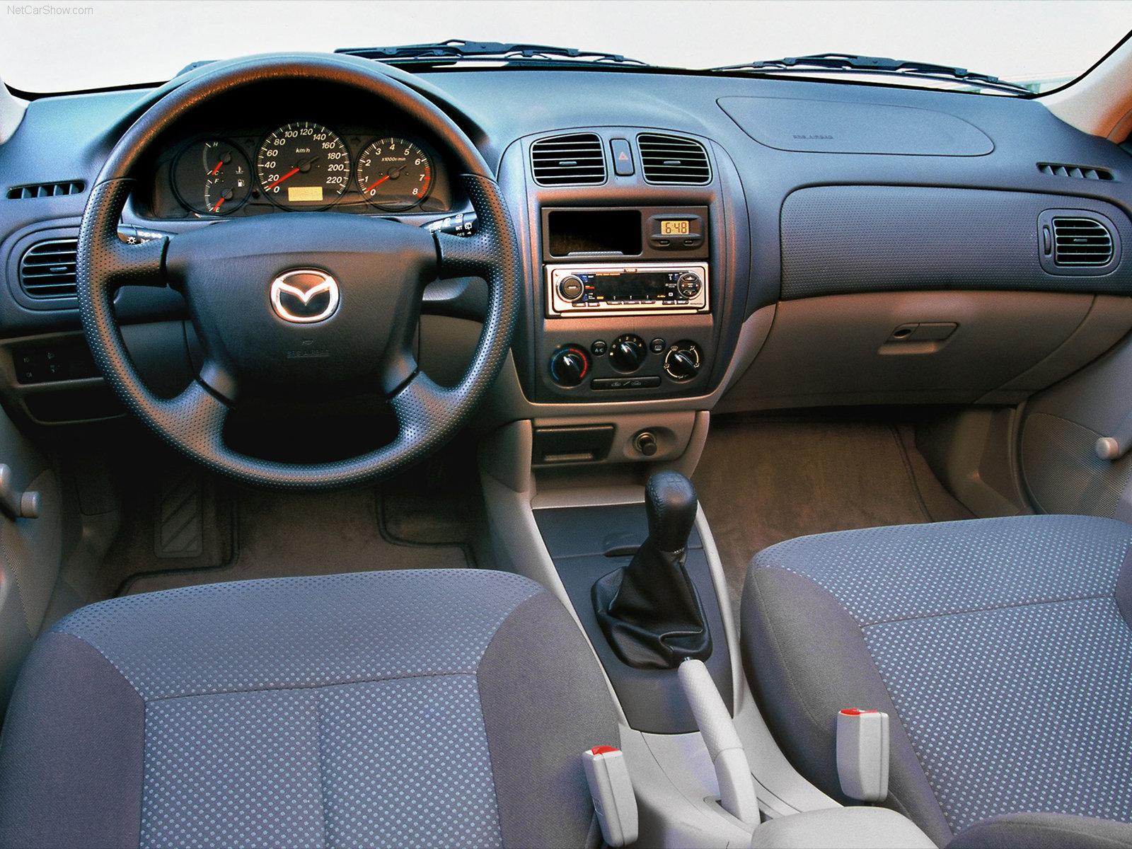 Mazda 323 VI (BJ) Restyling 2000 - 2003 Sedan #2