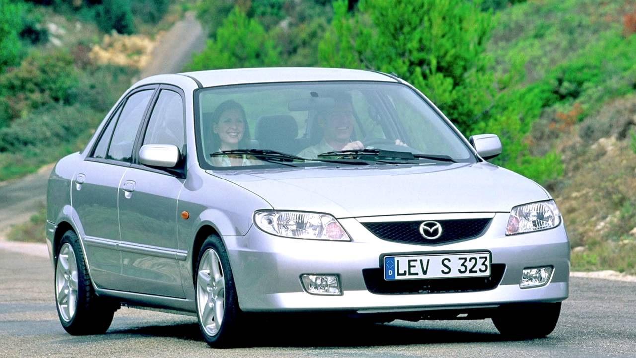 mazda 323 vi bj restyling 2000 2003 sedan outstanding cars. Black Bedroom Furniture Sets. Home Design Ideas