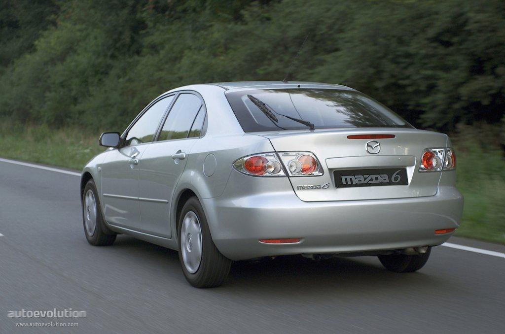 Mazda 6 I (GG) 2002 - 2005 Liftback #8