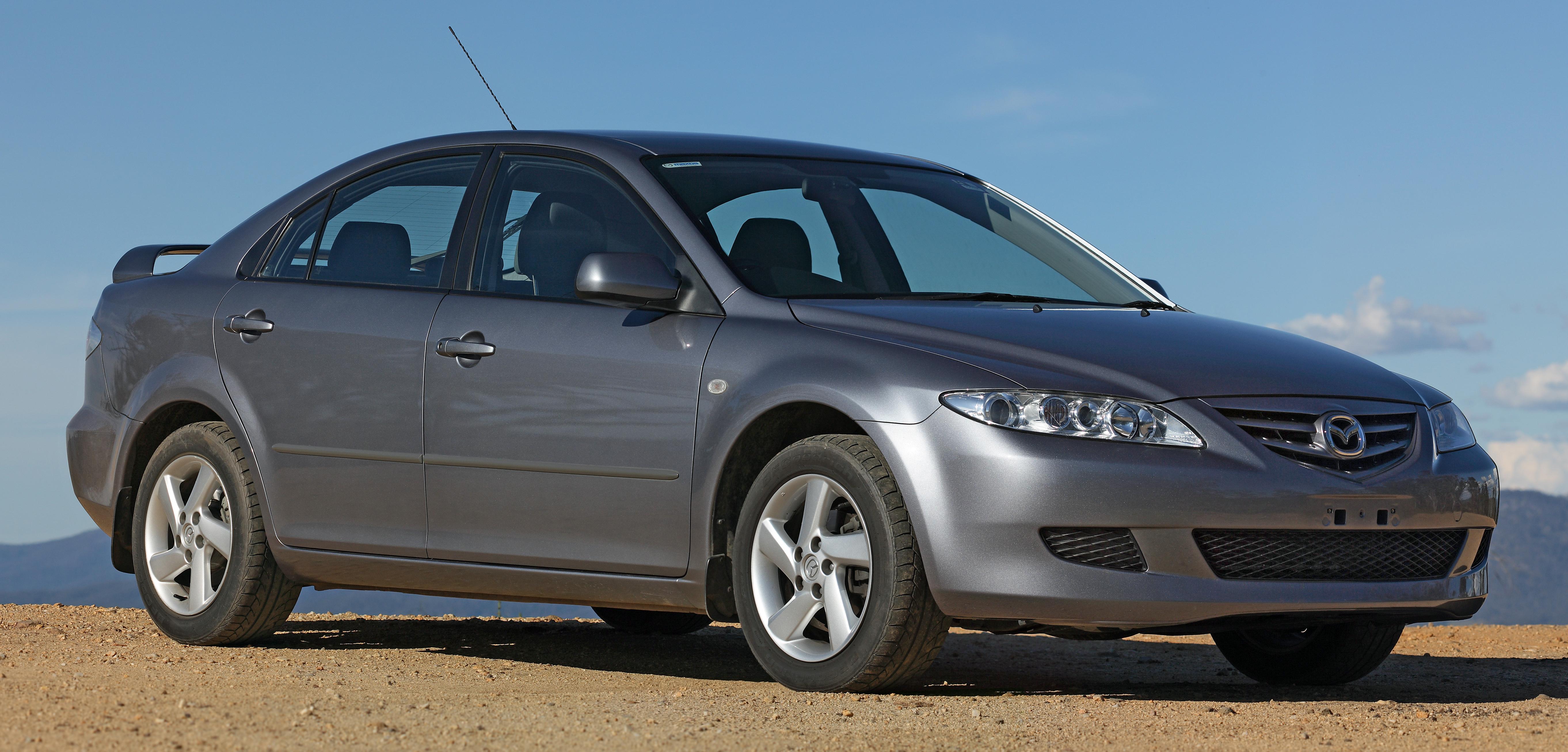 Mazda 6 I (GG) 2002 - 2005 Liftback #2