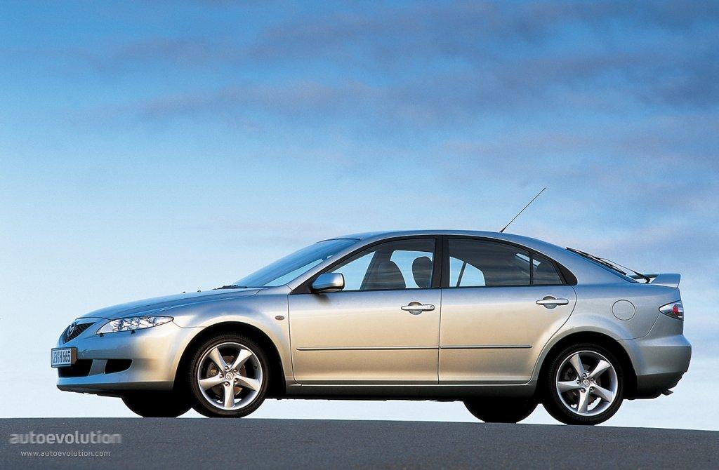 Mazda 6 I (GG) 2002 - 2005 Liftback #7