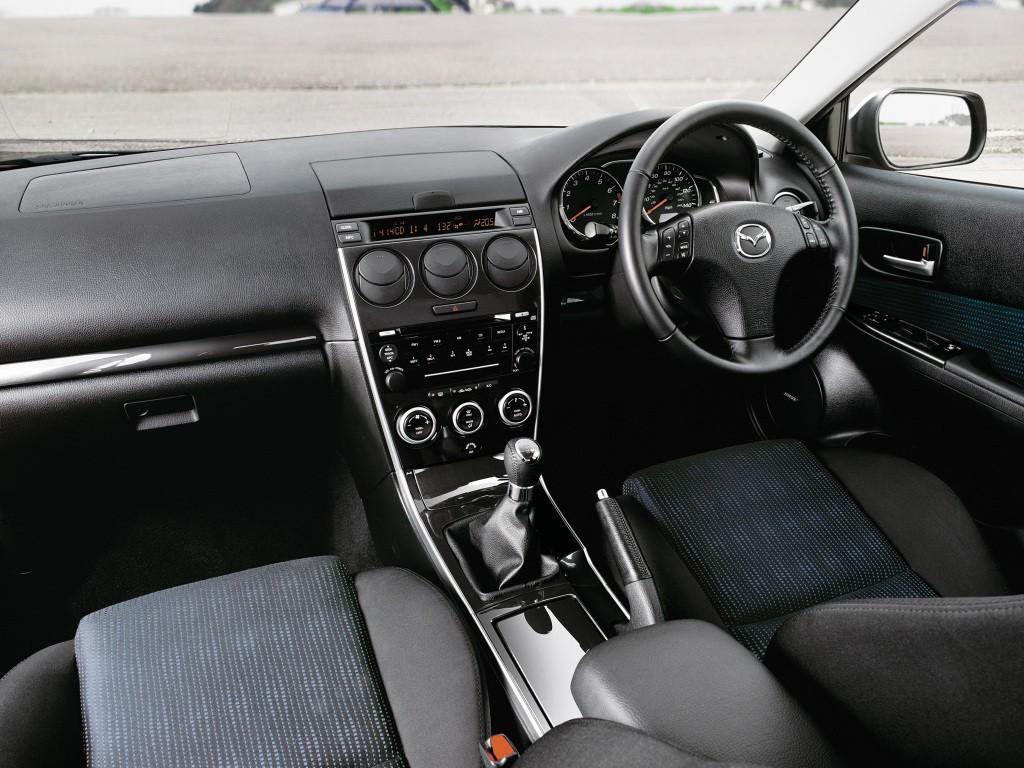Mazda 6 I (GG) 2002 - 2005 Liftback #5