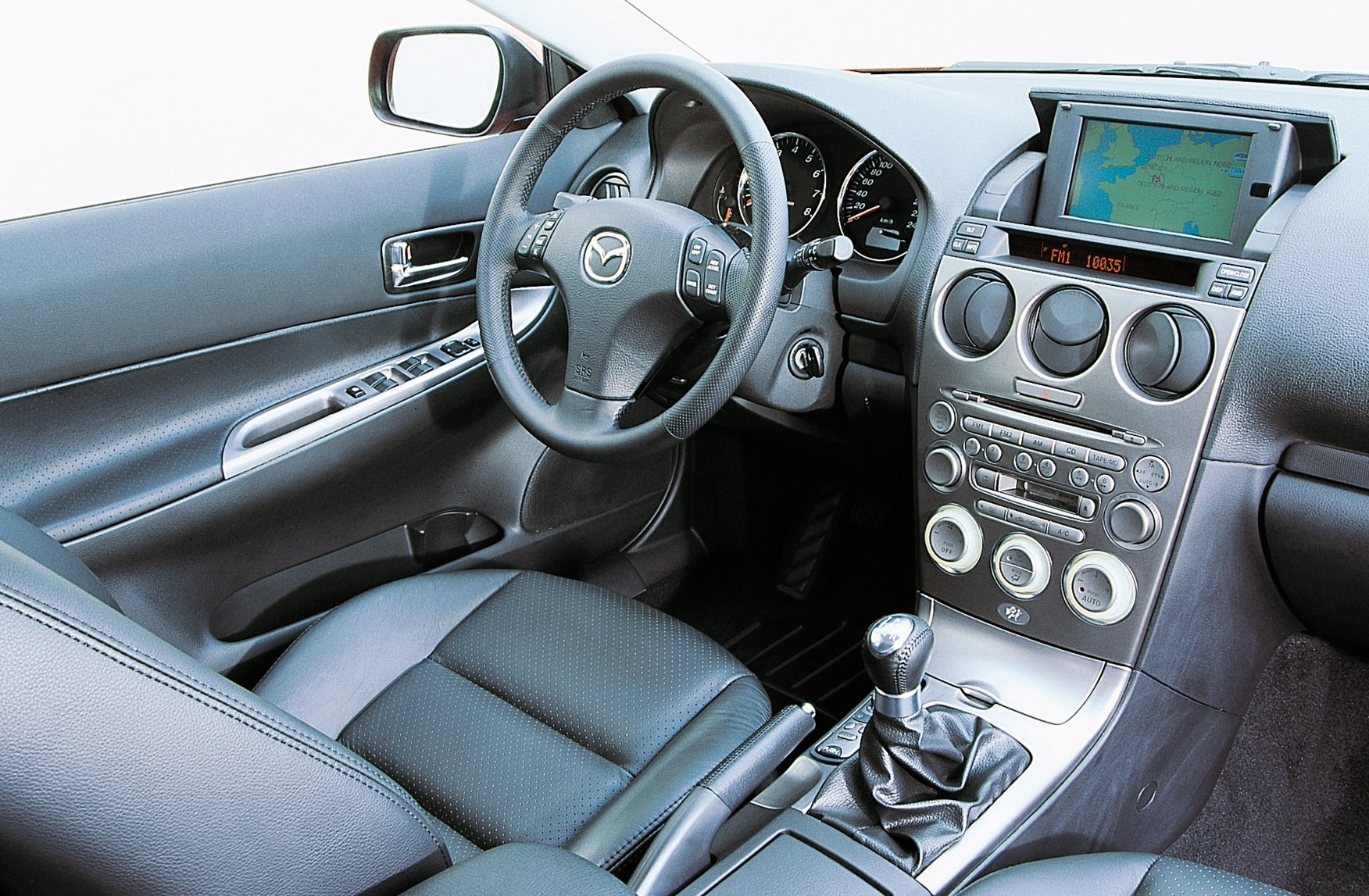 Mazda 6 I (GG) 2002 - 2005 Liftback #1