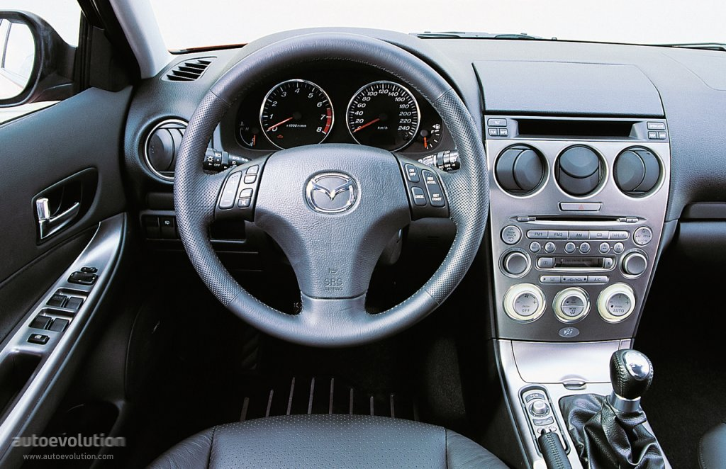 Mazda 6 I (GG) 2002 - 2005 Liftback #4