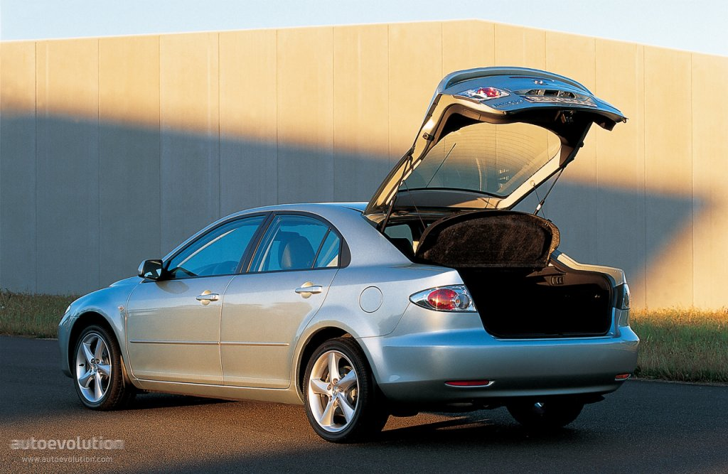 Mazda 6 I (GG) 2002 - 2005 Station wagon 5 door :: OUTSTANDING CARS