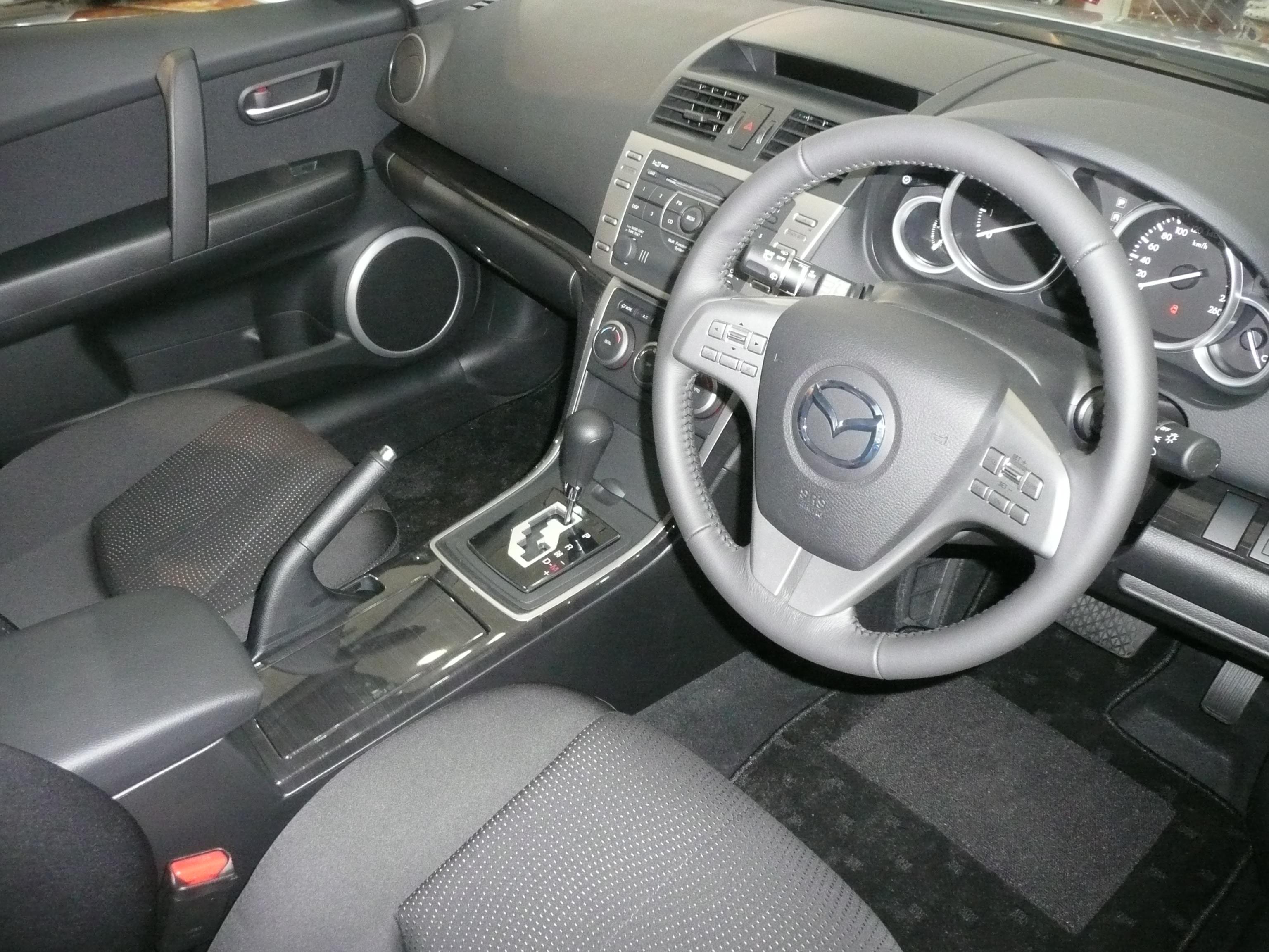 Mazda 6 I (GG) Restyling 2005 - 2008 Station wagon 5 door ...