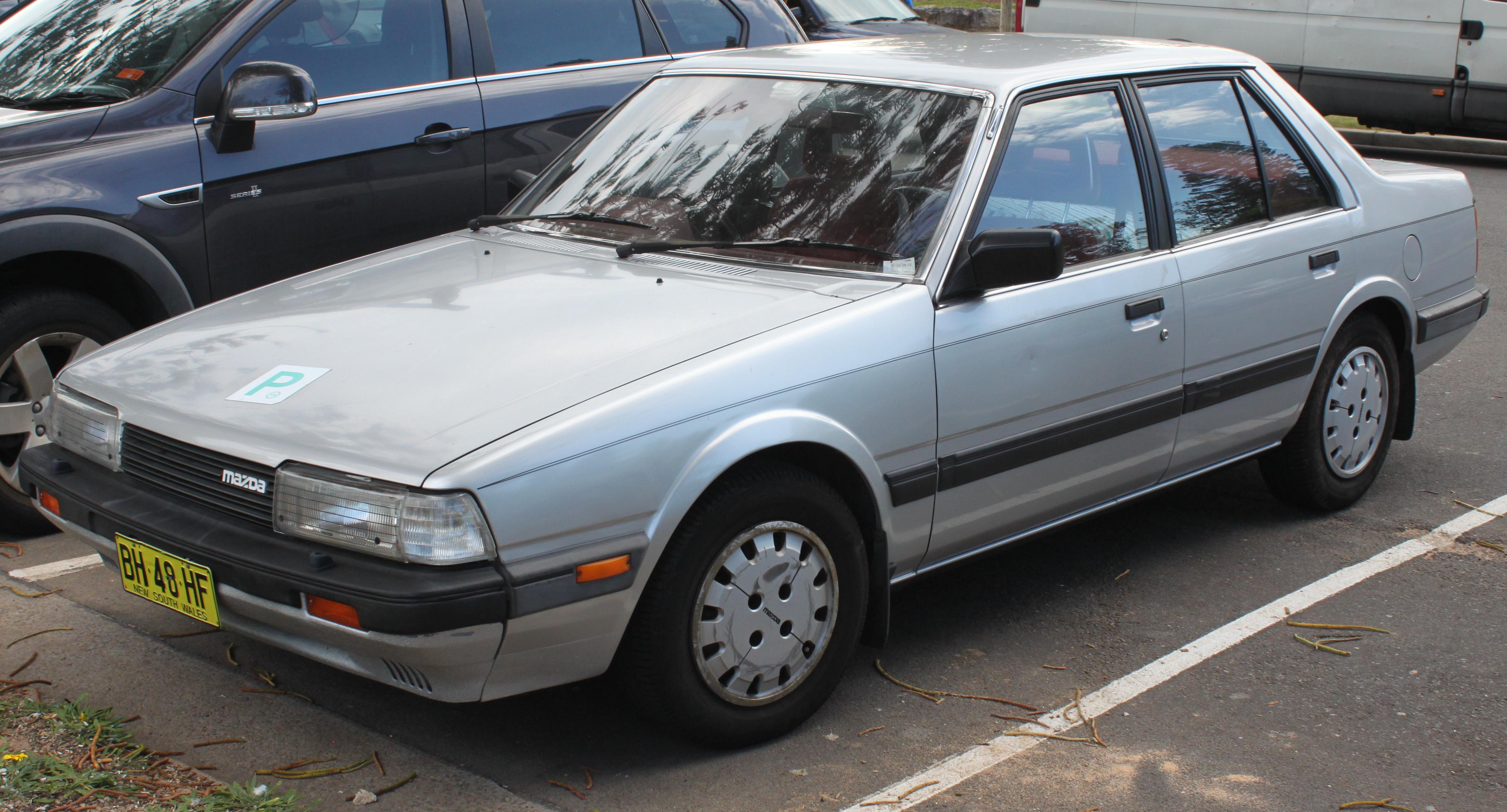 mazda 626 ii gc 1982 1987 sedan outstanding cars rh carsot com 1985 Mazda GLC 1985 Mazda GLC