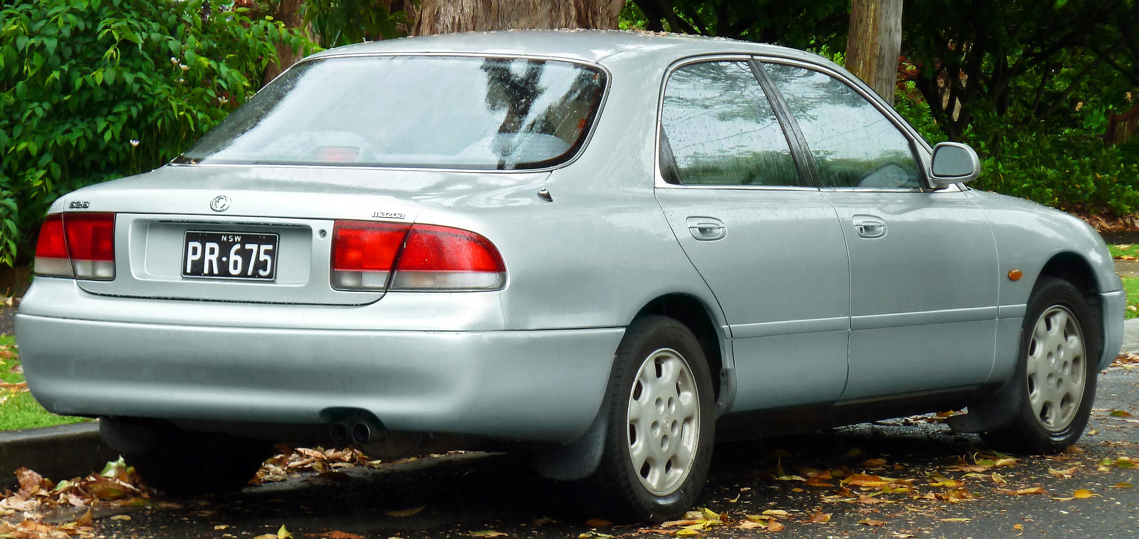Mazda 626 IV (GE) 1992 - 1997 Sedan :: OUTSTANDING CARS