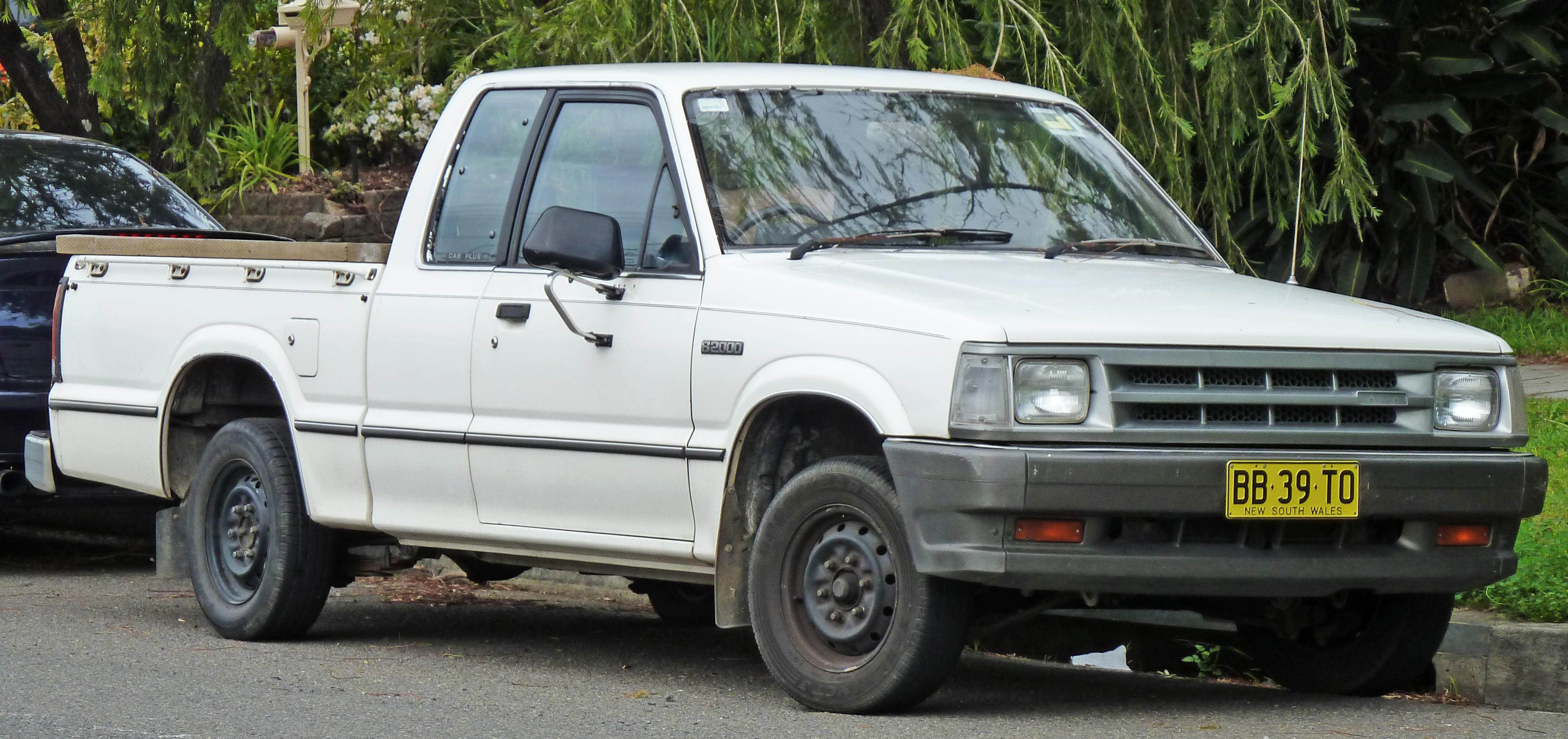 Mazda B-series IV 1985 - 1998 Pickup :: OUTSTANDING CARS