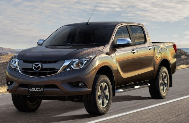 Mazda BT-50 II Restyling 2015 - now Pickup #3