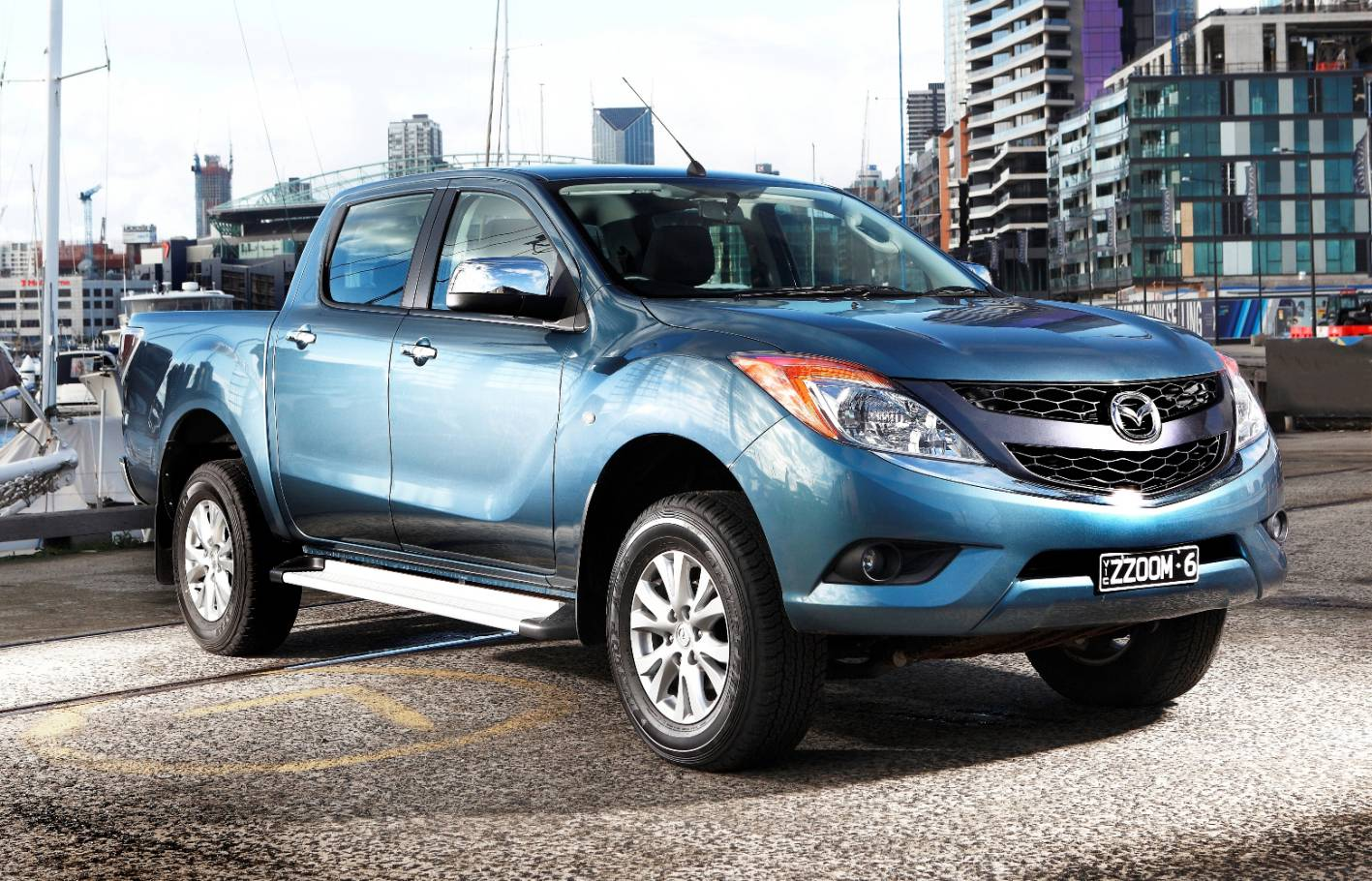 Mazda BT-50 II Restyling 2015 - now Pickup #2