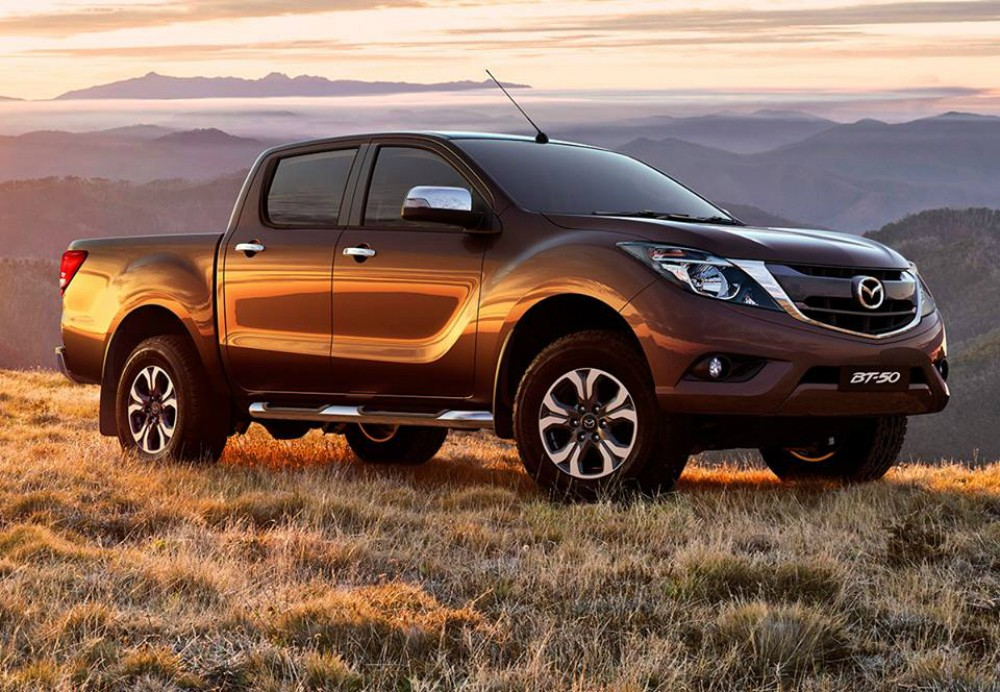 Mazda BT-50 II Restyling 2015 - now Pickup #5