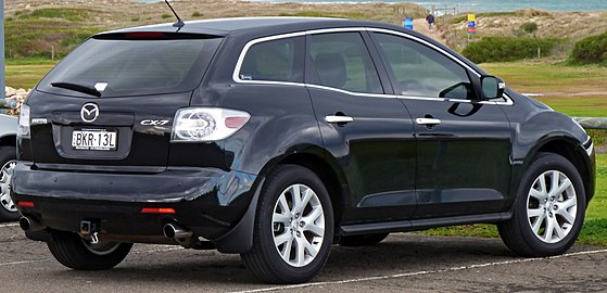 mazda cx 7 i 2006 2009 suv 5 door outstanding cars. Black Bedroom Furniture Sets. Home Design Ideas