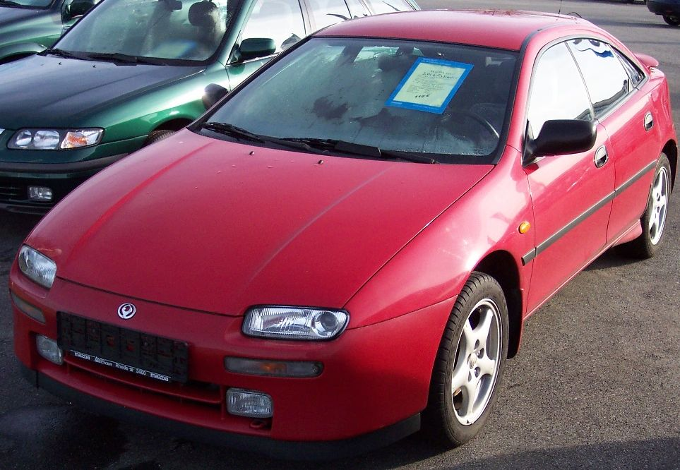 Mazda Lantis 1993 - 1997 Hatchback 5 door #5