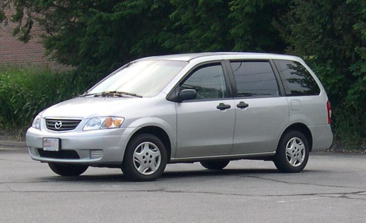 Mazda MPV I (LV) 1988 - 1999 Compact MPV #5