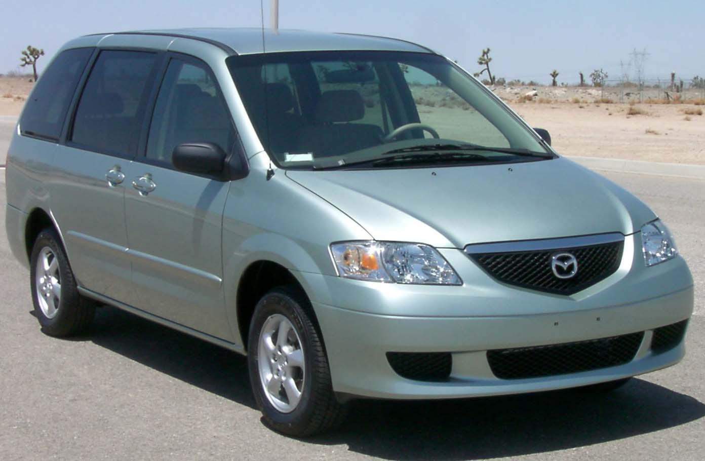 Mazda MPV I (LV) 1988 - 1999 Compact MPV #4