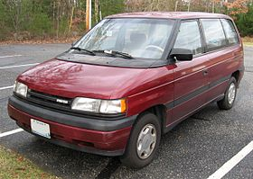Mazda MPV I (LV) 1988 - 1999 Compact MPV #7