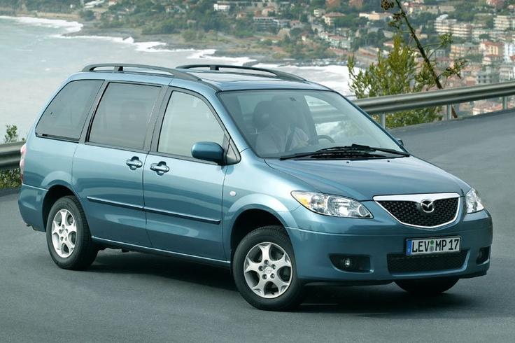 Mazda MPV II (LW) Restyling 2003 - 2006 Compact MPV #4
