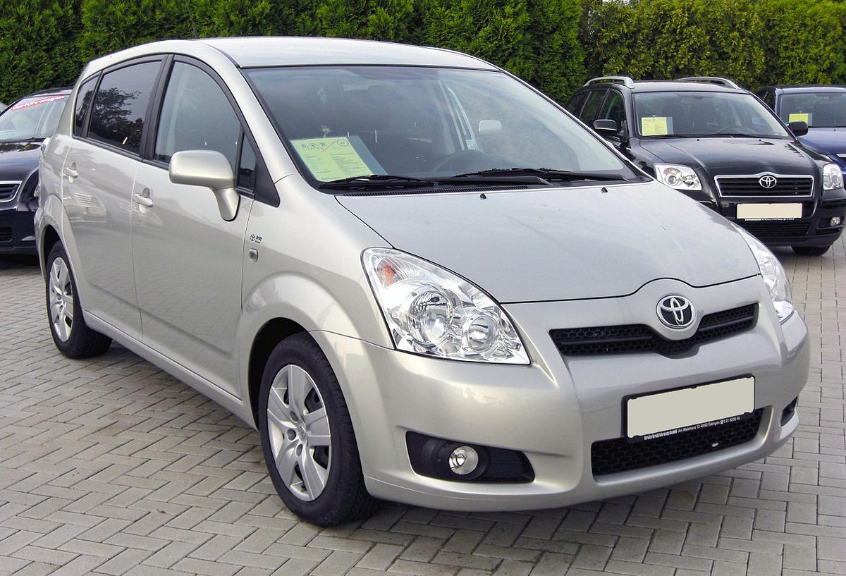 toyota ipsum ii m20 restyling 2003 2009 compact mpv. Black Bedroom Furniture Sets. Home Design Ideas