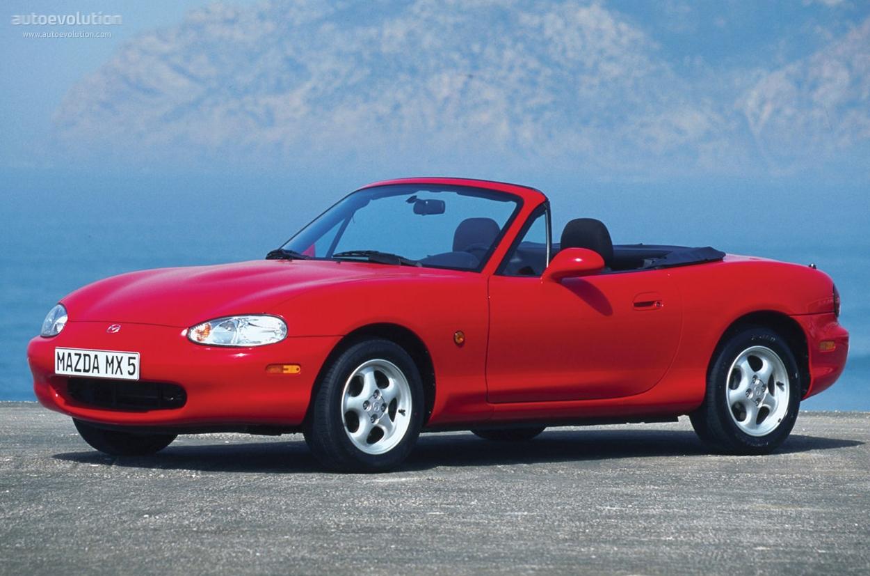 Mazda MX-5 II (NB) 1998 - 2001 Roadster #4