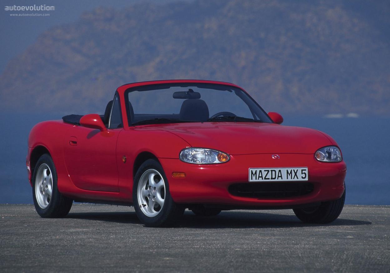 Mazda MX-5 II (NB) 1998 - 2001 Roadster #3