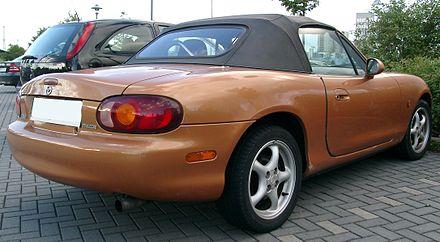 Mazda MX-5 II (NB) 1998 - 2001 Roadster #7