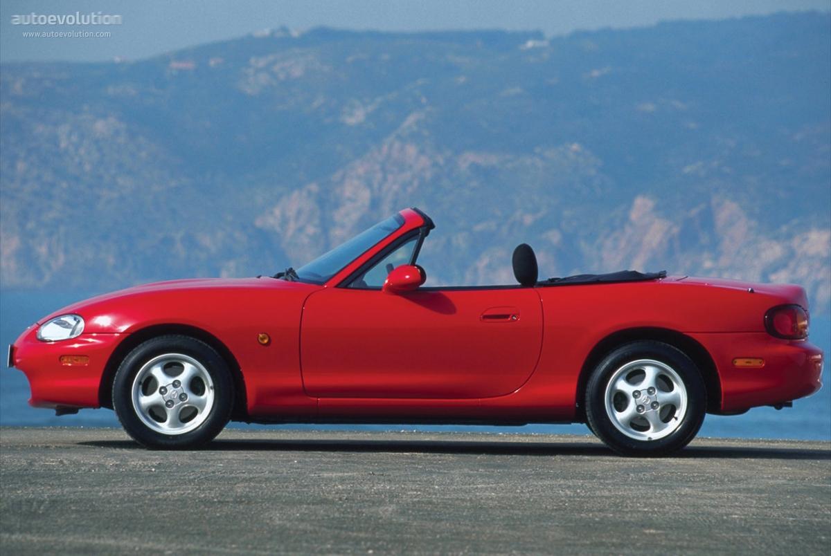 Mazda MX-5 II (NB) 1998 - 2001 Roadster #1