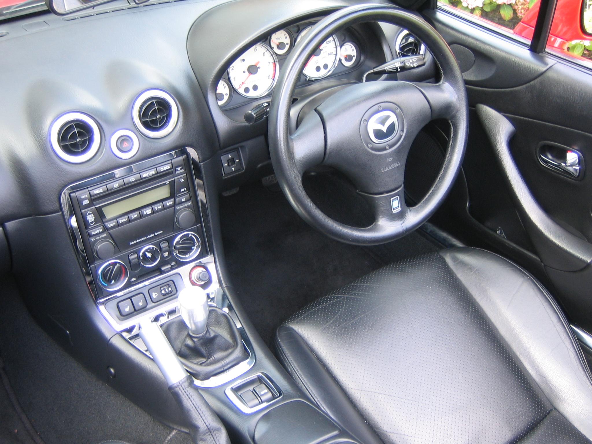 Mazda MX-5 II (NB) 1998 - 2001 Roadster #2