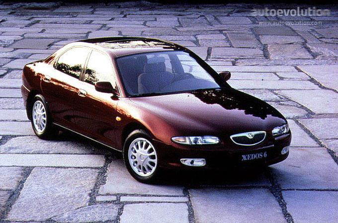 Mazda Xedos 6 1992 - 1999 Sedan #2