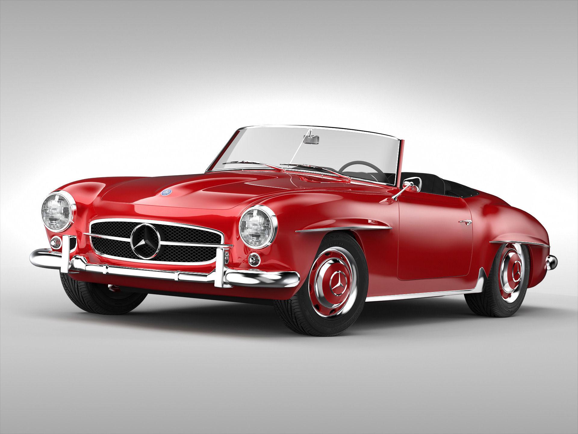 Mercedes-Benz SL-klasse I (R121) 1955 - 1963 Roadster #3