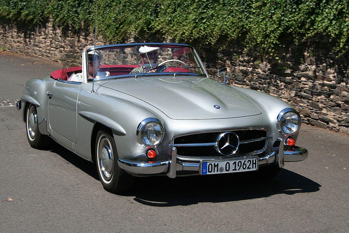 Mercedes-Benz SL-klasse I (R121) 1955 - 1963 Roadster #8
