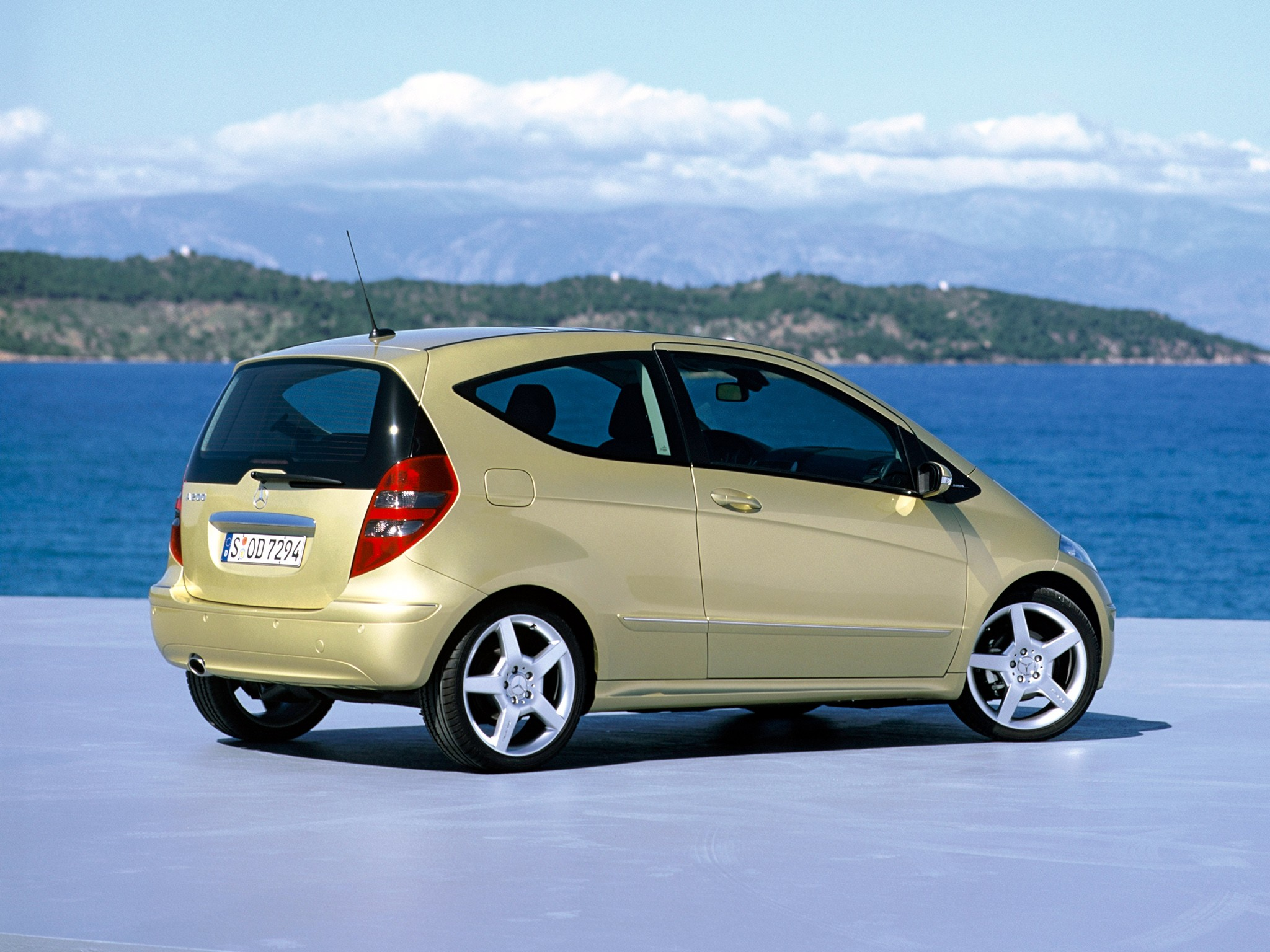 Mercedes-Benz A-klasse II (W169) 2004 - 2007 Hatchback 3 door #3