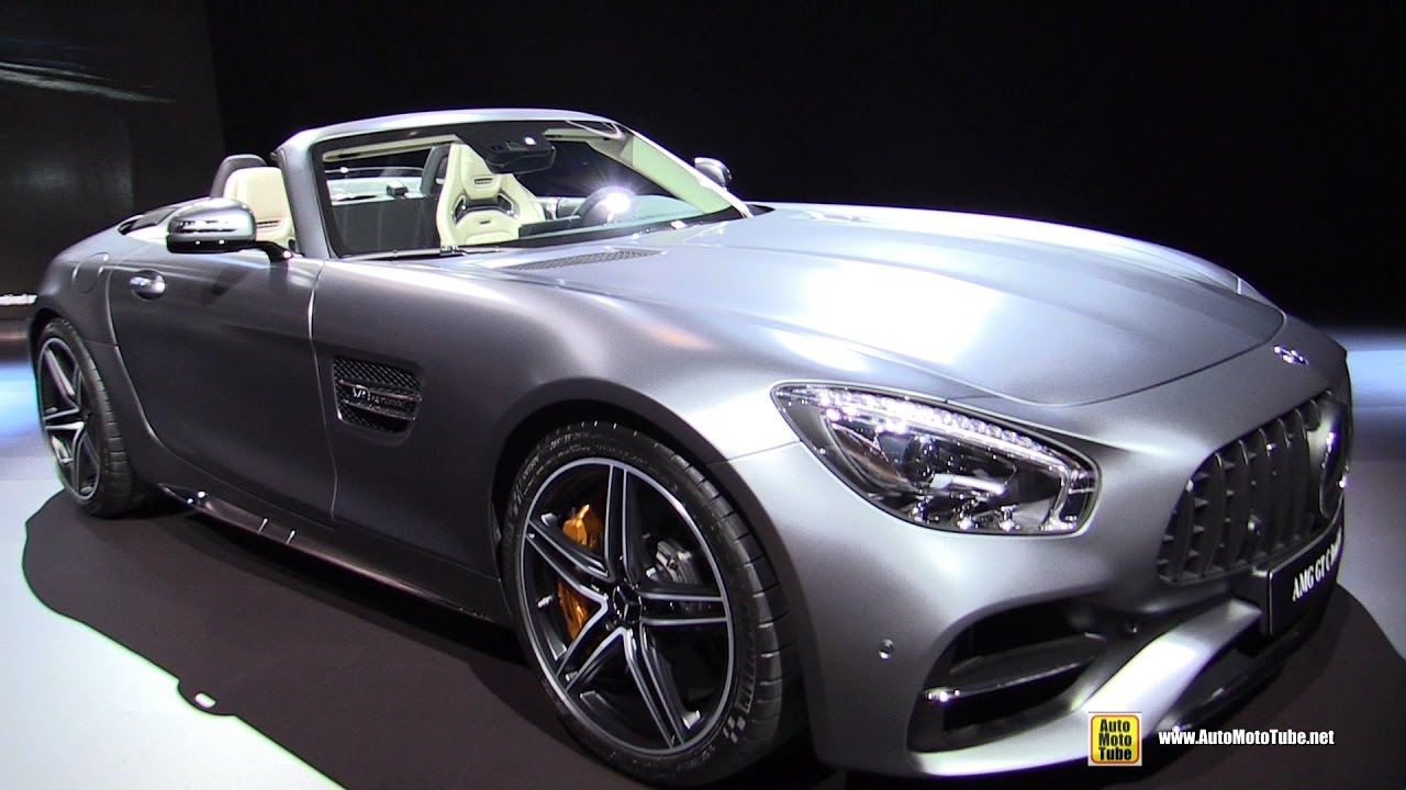 Mercedes-Benz AMG GT 2017 - now Roadster #2
