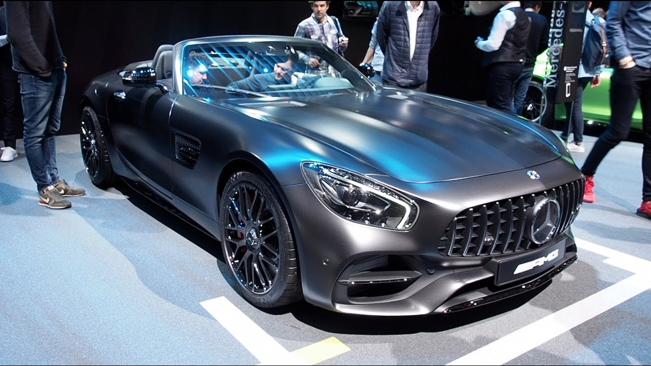 Mercedes-Benz AMG GT 2017 - now Roadster #3