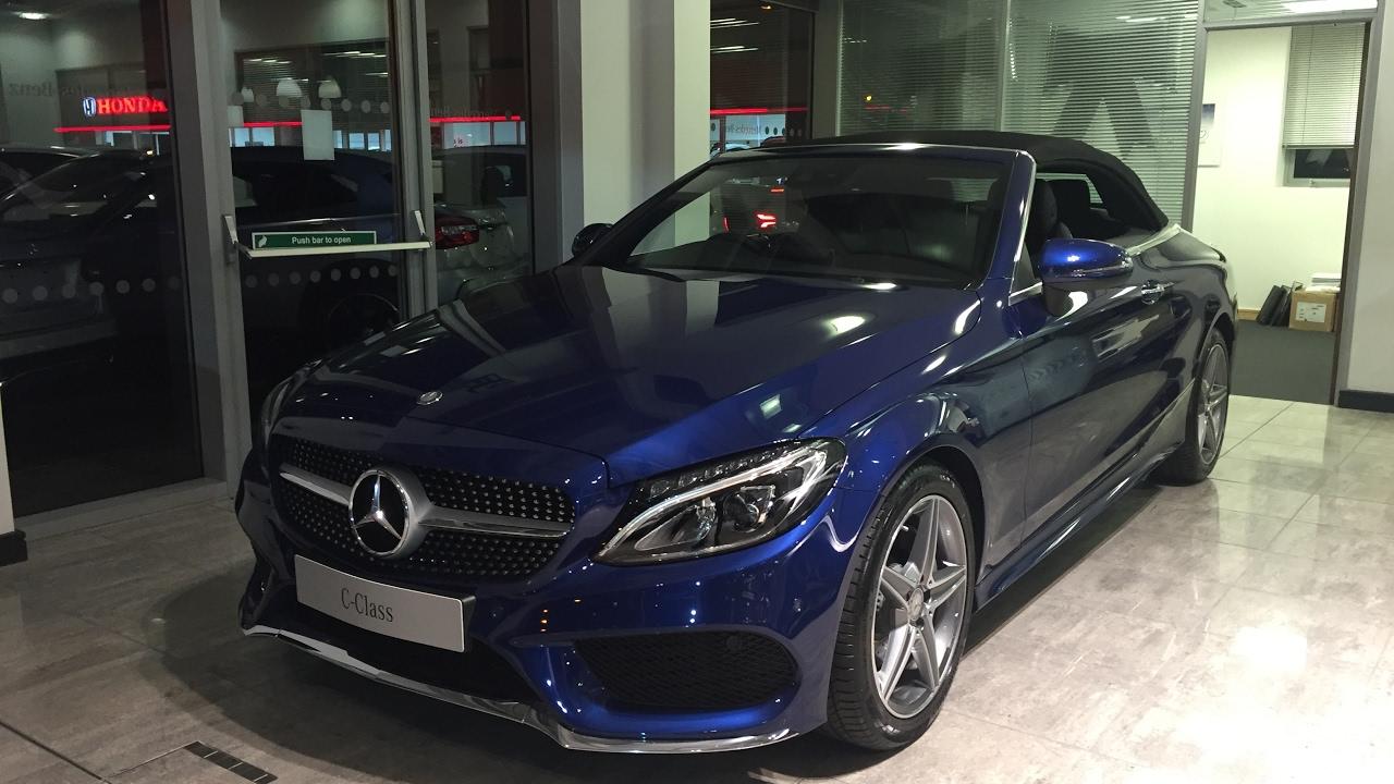 Mercedes-Benz C-klasse AMG IV (W205) 2014 - now Cabriolet #2