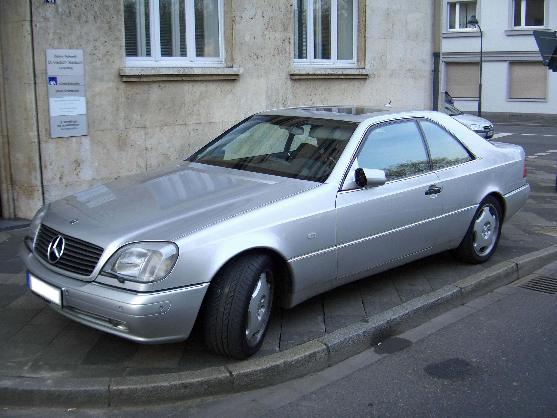 Mercedes-Benz CL-klasse I (C140) 1996 - 1998 Coupe #5