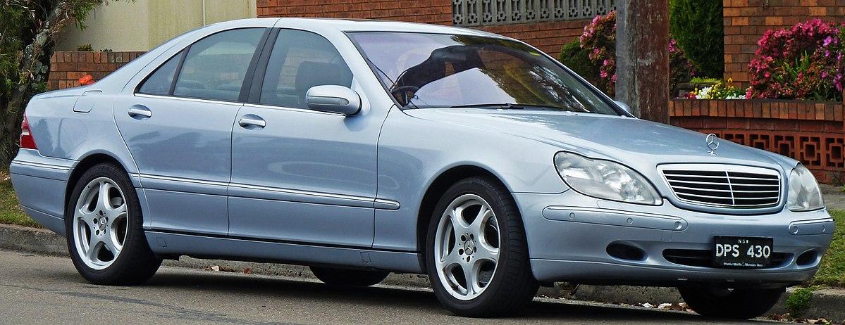Mercedes-Benz S-klasse AMG I (W220) 1999 - 2002 Sedan #8