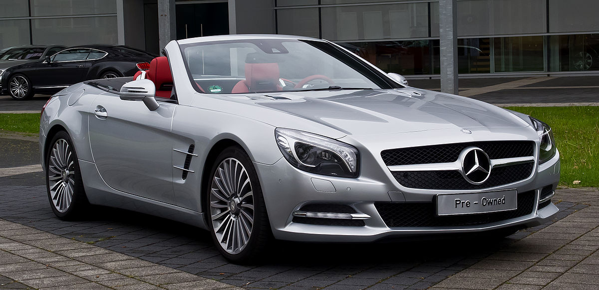 Mercedes-Benz SL-klasse AMG III (R231) Restyling 2015 - now Roadster #8