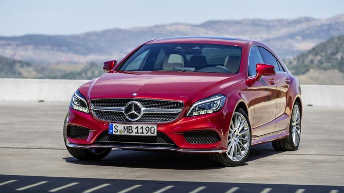 Mercedes-Benz CLS-klasse II (W218) Restyling 2014 - now Sedan #5