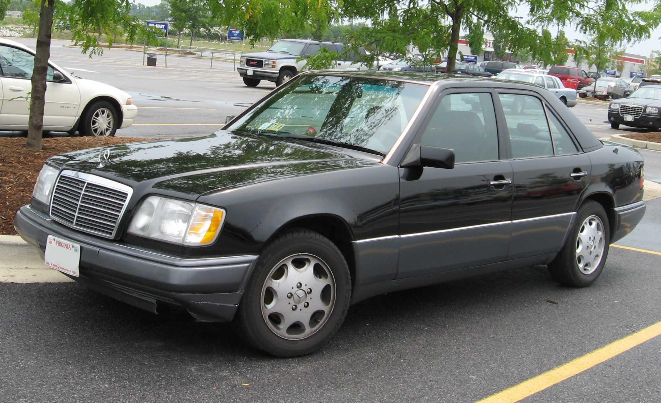 Mercedes-Benz E-klasse I (W124) 1993 - 1997 Cabriolet #1