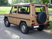 Mercedes-Benz G-klasse I (W460; W461) 1979 - 2001 SUV #3